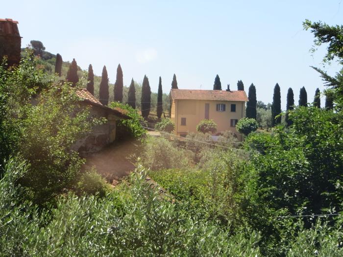 Toscane - Gevelversiering villa ...